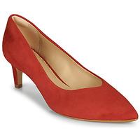 Čevlji  Ženske Salonarji Clarks LAINA55 COURT2 Rdeča