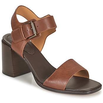 Čevlji  Ženske Sandali & Odprti čevlji Clarks LANDRA70 STRAP Kostanjeva