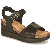Čevlji  Ženske Sandali & Odprti čevlji Clarks LIZBY STRAP Črna