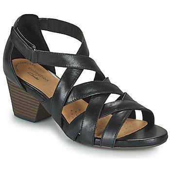 Čevlji  Ženske Sandali & Odprti čevlji Clarks LORENE POP Črna