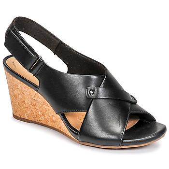Čevlji  Ženske Sandali & Odprti čevlji Clarks MARGEE EVE Črna
