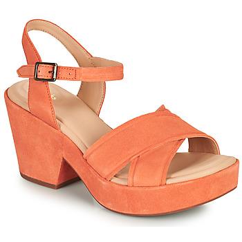 Čevlji  Ženske Sandali & Odprti čevlji Clarks MARITSA70STRAP Koralna