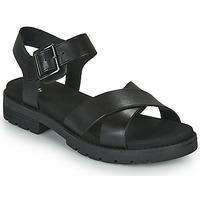 Čevlji  Ženske Sandali & Odprti čevlji Clarks ORINOCO STRAP Črna