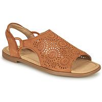 Čevlji  Ženske Sandali & Odprti čevlji Clarks REYNA SWIRL Kamel