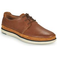 Čevlji  Moški Čevlji Derby Clarks BRATTON LACE Kostanjeva