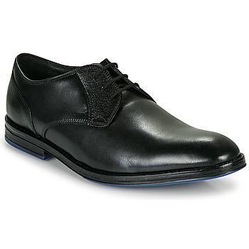 Čevlji  Moški Čevlji Derby Clarks CITISTRIDELACE Črna