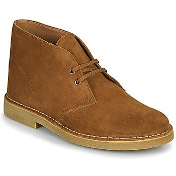 Čevlji  Moški Polškornji Clarks DESERT BOOT 2 Kostanjeva
