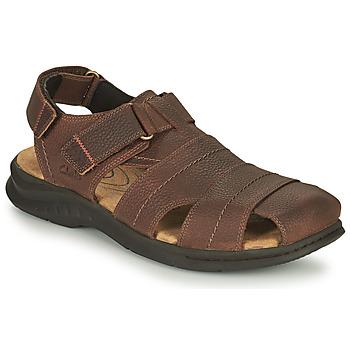 Čevlji  Moški Športni sandali Clarks HAPSFORD COVE Kostanjeva