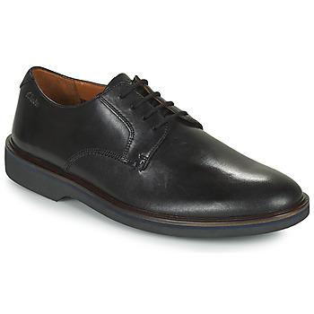 Čevlji  Moški Čevlji Derby Clarks MALWOOD PLAIN Črna