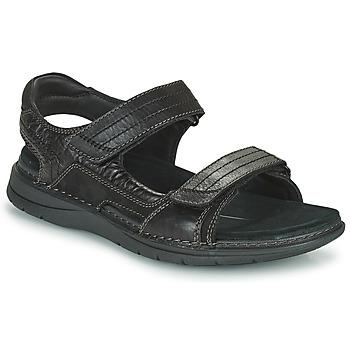 Čevlji  Moški Športni sandali Clarks NATURE TREK Črna