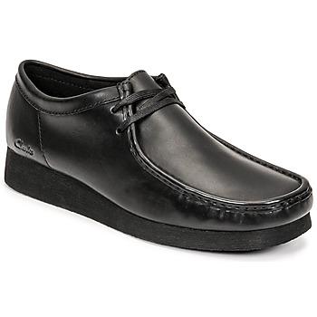Čevlji  Moški Čevlji Derby Clarks WALLABEE 2 Črna