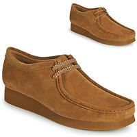 Čevlji  Moški Čevlji Derby Clarks WALLABEE 2 Kostanjeva