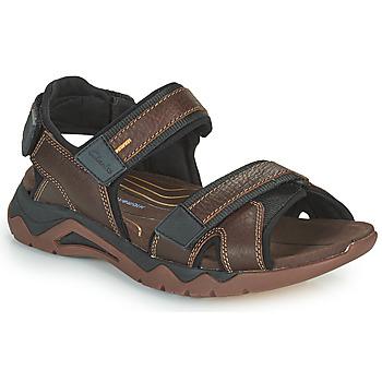 Čevlji  Moški Športni sandali Clarks WAVE2.0 JAUNT Kostanjeva