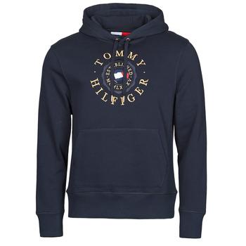 Oblačila Moški Puloverji Tommy Hilfiger ICON COIN HOODY Modra