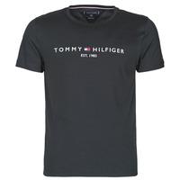 Oblačila Moški Majice s kratkimi rokavi Tommy Hilfiger CORE TOMMY LOGO Črna