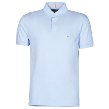 Oblačila Moški Polo majice kratki rokavi Tommy Hilfiger 1986 REGULAR POLO Modra / Nebeško modra