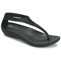 Čevlji  Ženske Japonke Crocs CROCS SERENA FLIP W Črna