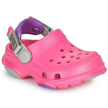 Čevlji  Deklice Cokli Crocs CLASSIC ALL-TERRAIN CLOG K Rožnata
