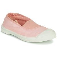 Čevlji  Deklice Nizke superge Bensimon TENNIS ELASTIQUE Rožnata