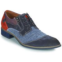 Čevlji  Moški Čevlji Derby Kdopa MONTMARTRE Modra / Rdeča