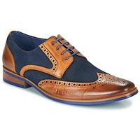 Čevlji  Moški Čevlji Derby Kdopa MANI Kamel / Modra