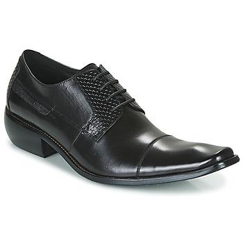 Čevlji  Moški Čevlji Derby Kdopa DRAKE Črna