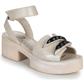 Čevlji  Ženske Sandali & Odprti čevlji Papucei AMON Bež