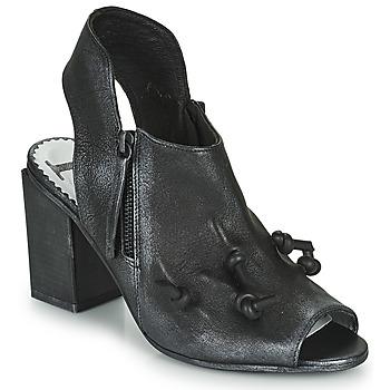 Čevlji  Ženske Sandali & Odprti čevlji Papucei MARBLE Črna