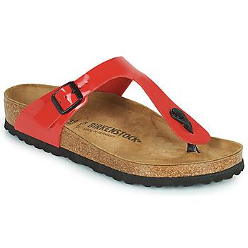 Čevlji  Ženske Japonke Birkenstock GIZEH Rdeča