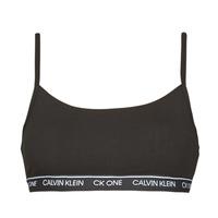 Spodnje perilo Ženske Topi Calvin Klein Jeans UNLINED BRALETTE Črna