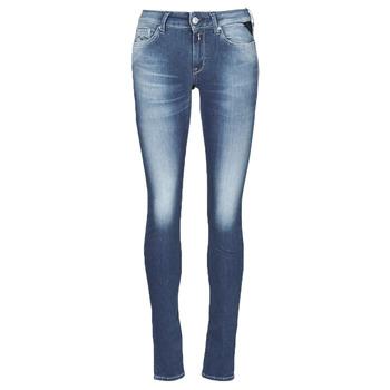 Oblačila Ženske Jeans skinny Replay HYPERFLEX LUZ Modra
