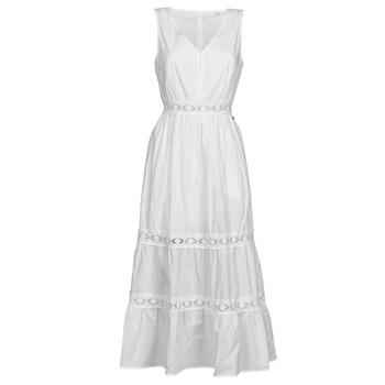 Oblačila Ženske Kratke obleke Deeluxe MAEL Kremno bela