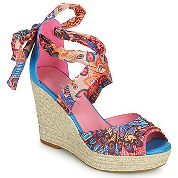Čevlji  Ženske Sandali & Odprti čevlji Moony Mood EFIRNIL Rožnata