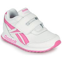 Čevlji  Deklice Nizke superge Reebok Classic REEBOK ROYAL CLJOG 2 KC Bela / Rožnata