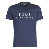 Oblačila Moški Majice s kratkimi rokavi Polo Ralph Lauren SS CREW Modra