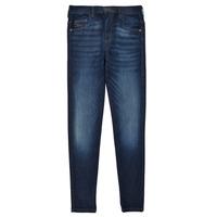 Oblačila Deklice Jeans skinny Diesel D-SLANDY HIGH Modra