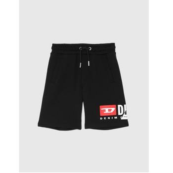 Oblačila Dečki Kratke hlače & Bermuda Diesel PSHORTCUTY Črna