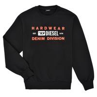 Oblačila Dečki Puloverji Diesel SGIRKK10 Črna