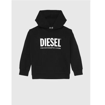 Oblačila Otroci Puloverji Diesel SDIVISION LOGO Črna