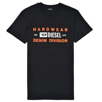 Oblačila Dečki Majice s kratkimi rokavi Diesel TDIEGOSK32 Črna