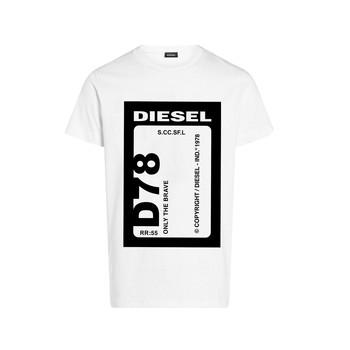 Oblačila Dečki Majice s kratkimi rokavi Diesel TFULL78 Bela