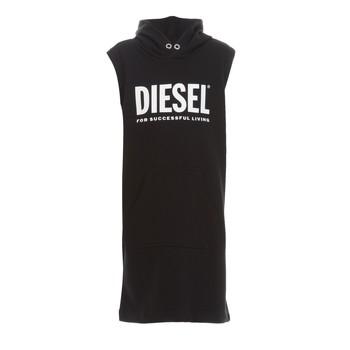 Oblačila Deklice Kratke obleke Diesel DILSET Črna