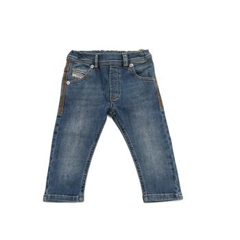 Oblačila Dečki Kavbojke slim Diesel KROOLEY Modra