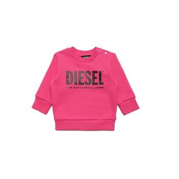 Oblačila Deklice Puloverji Diesel SCREWDIVISION LOGOB Rožnata