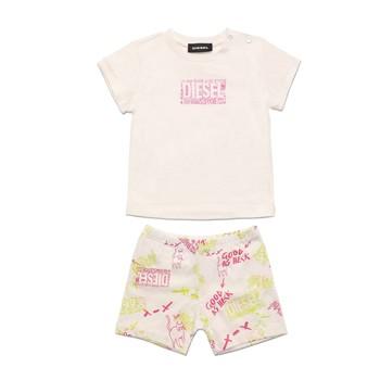 Oblačila Deklice Otroški kompleti Diesel SILLIN Večbarvna