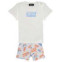 Oblačila Dečki Otroški kompleti Diesel SILLIN Večbarvna