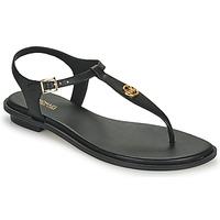 Čevlji  Ženske Sandali & Odprti čevlji MICHAEL Michael Kors MALLORY THONG Črna