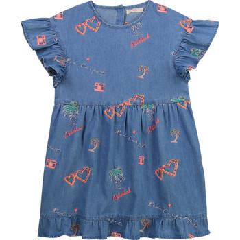 Oblačila Deklice Kratke obleke Billieblush U12640-Z10 Modra
