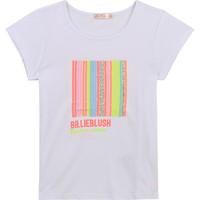 Oblačila Deklice Majice s kratkimi rokavi Billieblush / Billybandit U15857-10B Bela