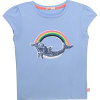 Oblačila Deklice Majice s kratkimi rokavi Billieblush U15875-798 Modra